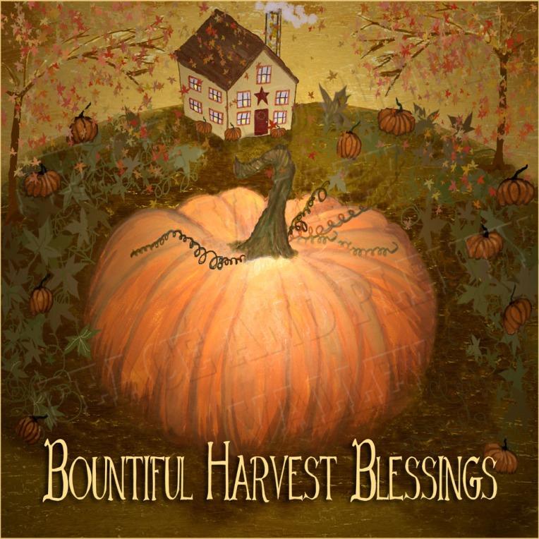 Autumn Bountiful harvest