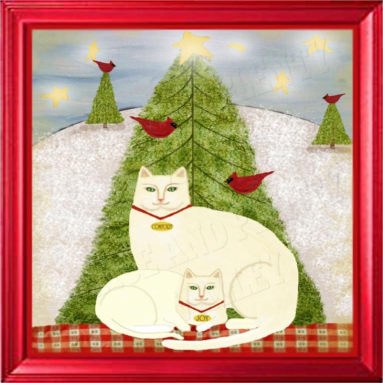 christmas gift DIY Cats