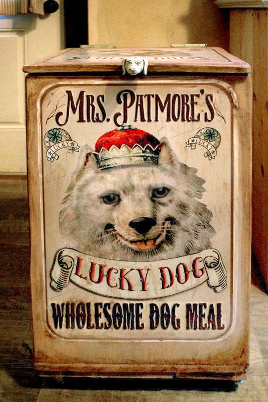 dog art sign