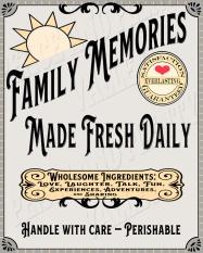Family Memories GRAY