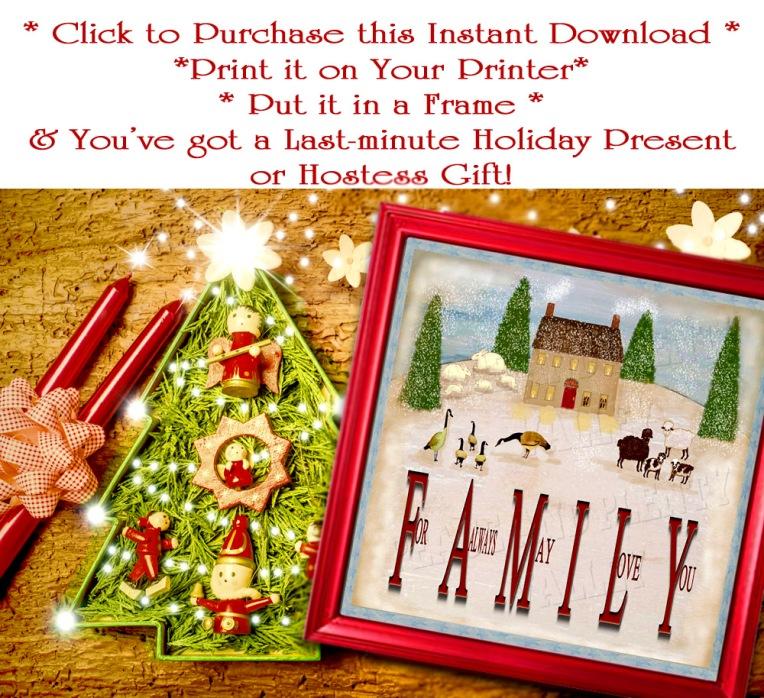 Christmas photo frame cards, cute tree.