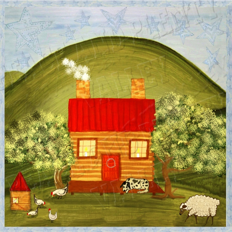 prim cabin primitive cabin country