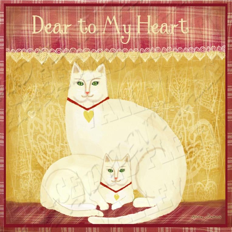 primitive cat folk art