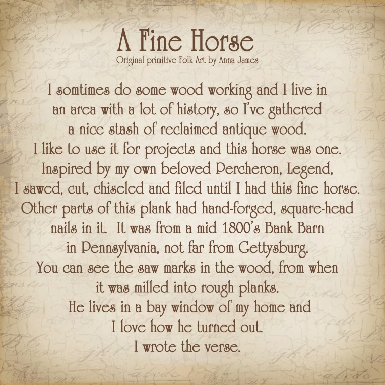 A Fine Horse Story