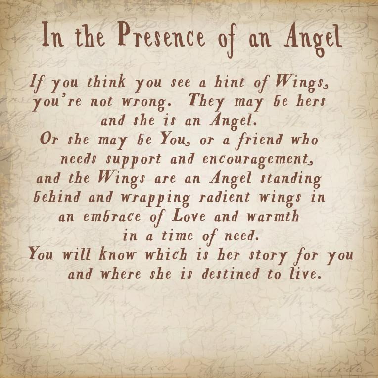 Angel presence Story