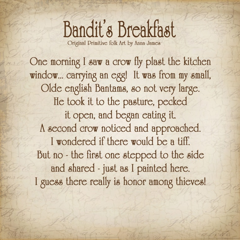 Bandits breakfast story