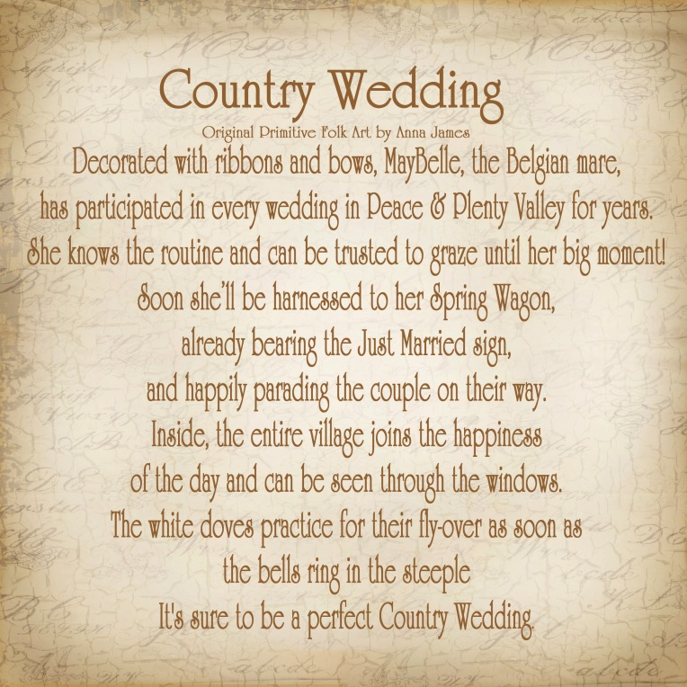 Country Wedding Story