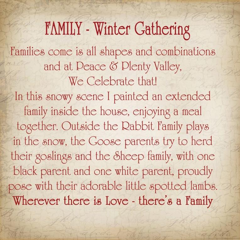 Family Winter Gathering Story