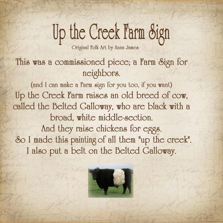 farm sign Story