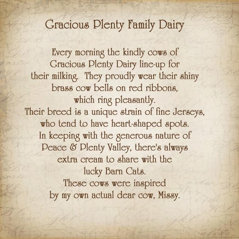 Gracious Plenty Story