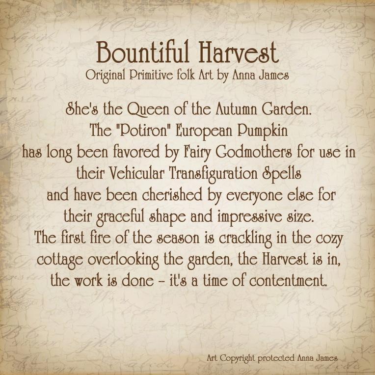 Harvest Pumpkin Story