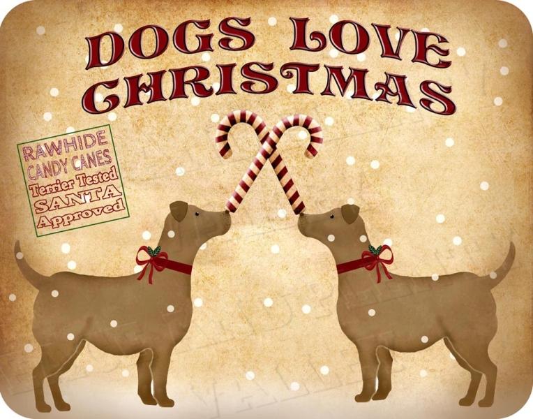 DOGS LOVE CHRISTMAS 1