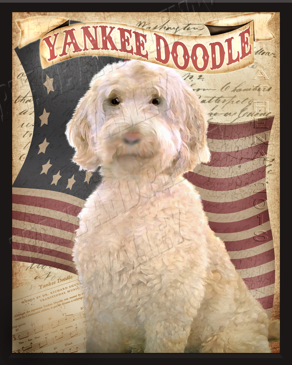 yankee doodle framed Low Res Watermarked